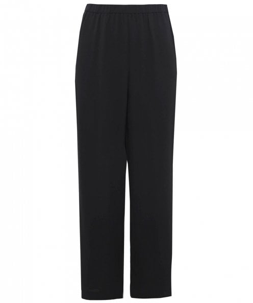 Eileen Fisher Silk Wide Leg Trousers