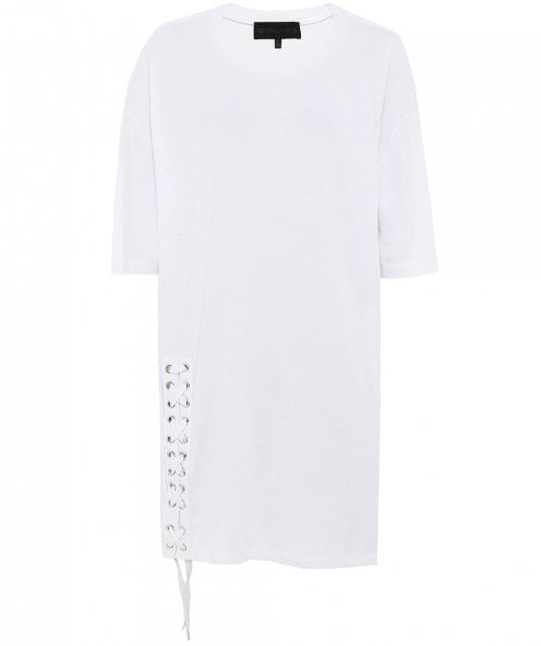 Kendall and Kylie Lace Up T-Shirt Dress
