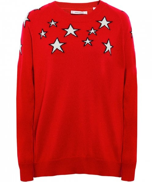 Chinti and Parker Stardust Cashmere Jumper