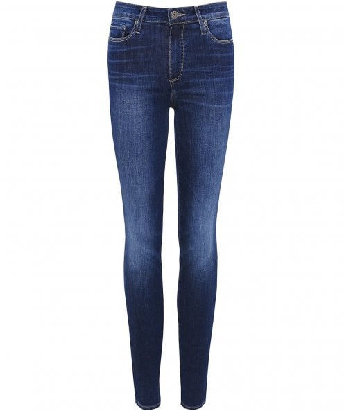 Paige Denim High Rise Hoxton Skinny Jeans