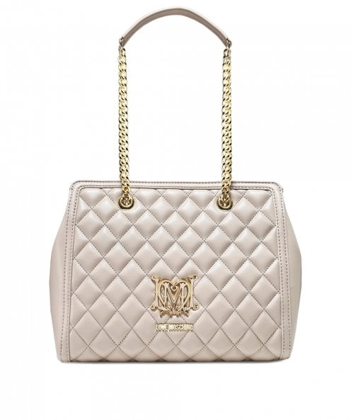 Moschino Love Moschino Quilted Leather Shoulder Bag