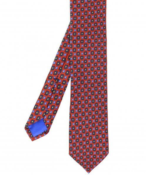 Jules B Patterned Silk Tie