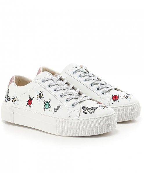 MOA Master of Arts Embroidered Bug Trainers