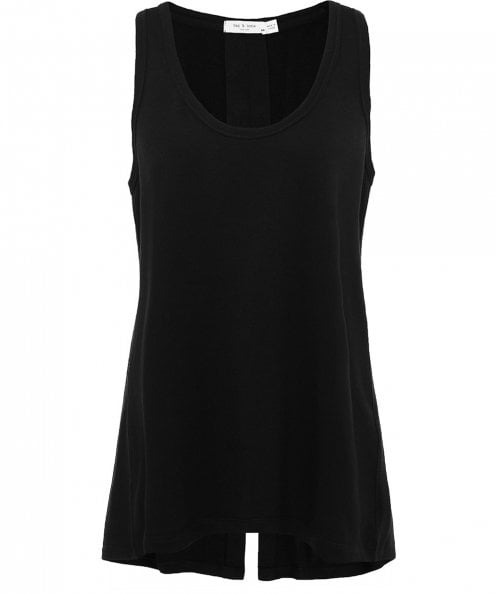 Rag and Bone Kat Split Back Tank Top