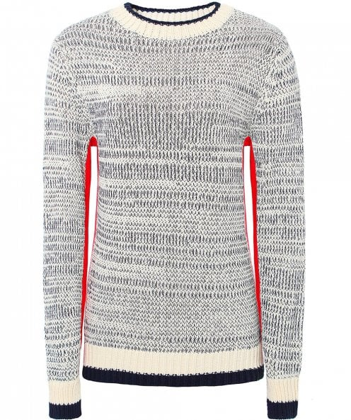 Victoria Victoria Beckham Contrast Side Panel Sweater