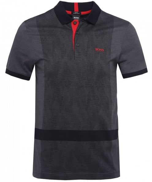 BOSS Paule 3 Overprint Polo Shirt