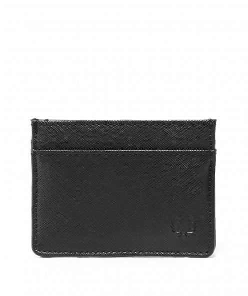 Fred Perry Saffiano Effect Card Holder