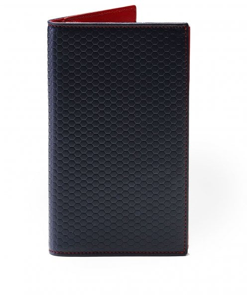 Hackett Tessellated Leather Card Wallet