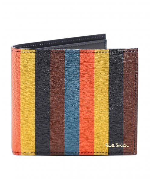 Paul Smith Bright Stripe Billfold Wallet