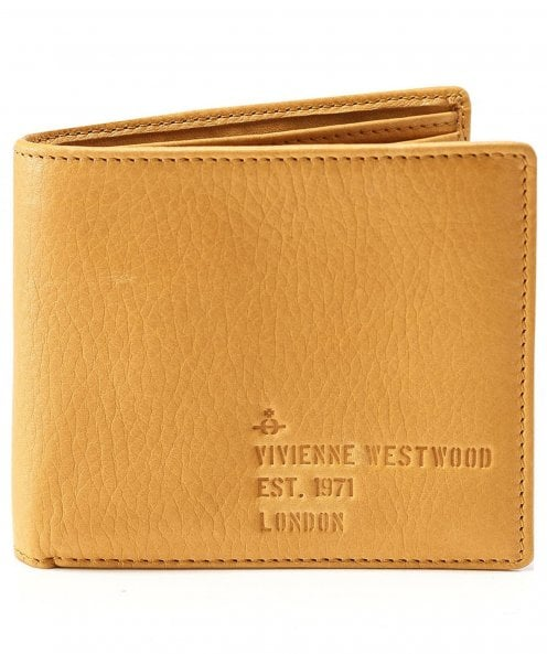 Vivienne Westwood Man Tumbled Leather Heath Wallet