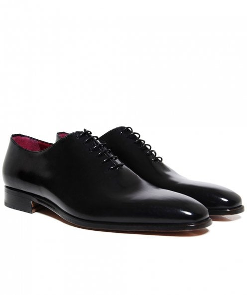 Stemar Leather Vitello Derby Shoes