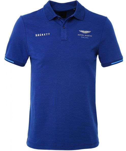 Hackett Slim Fit Contrast Tape Polo Shirt