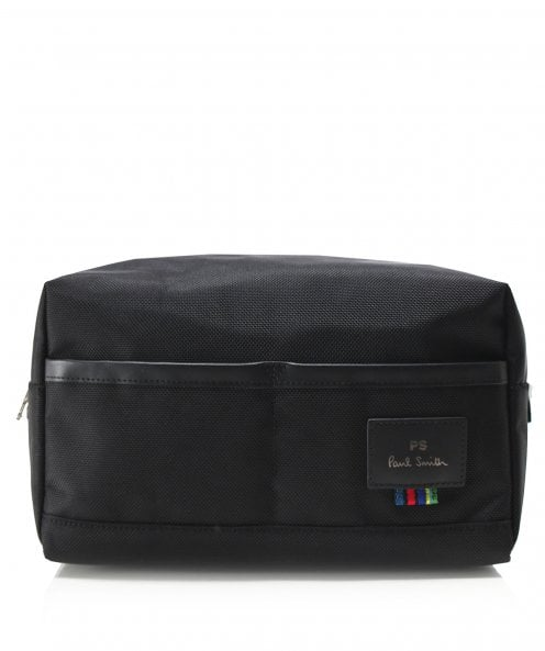 PS by Paul Smith Woven Cycle Stripe Trim Wash Bag