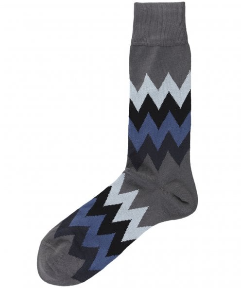 Paul Smith Zig-Zag Stripe Socks