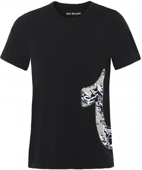True Religion Pop Camo Logo T-Shirt