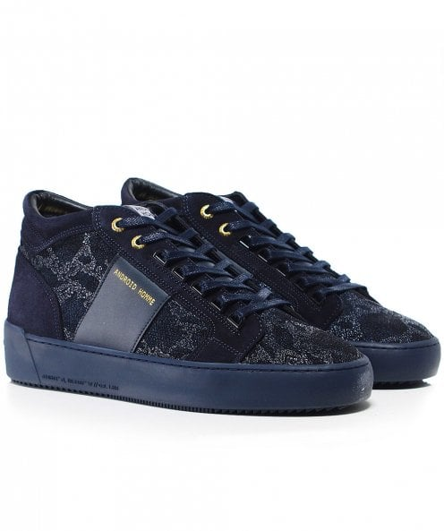 Android Homme Propulsion Mid Top Hybrid Python Trainers