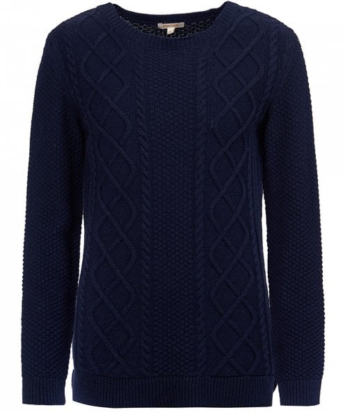 Barbour Leith Crew Neck Knitted Jumper