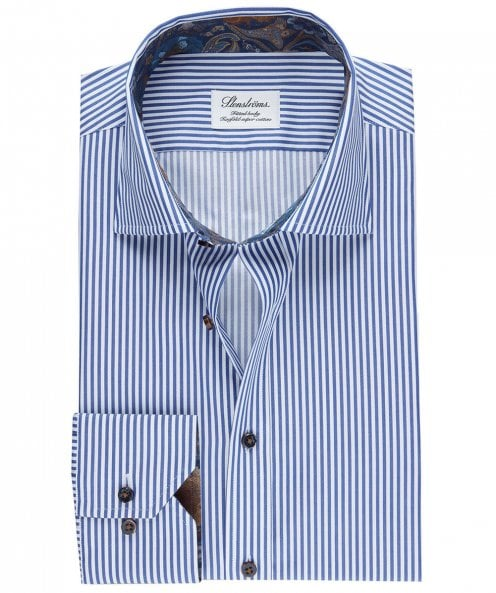 Stenstroms Slimline Striped Shirt