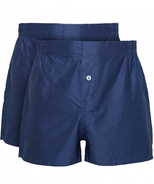 Hamilton and Hare Two Pack of Boxer Shorts