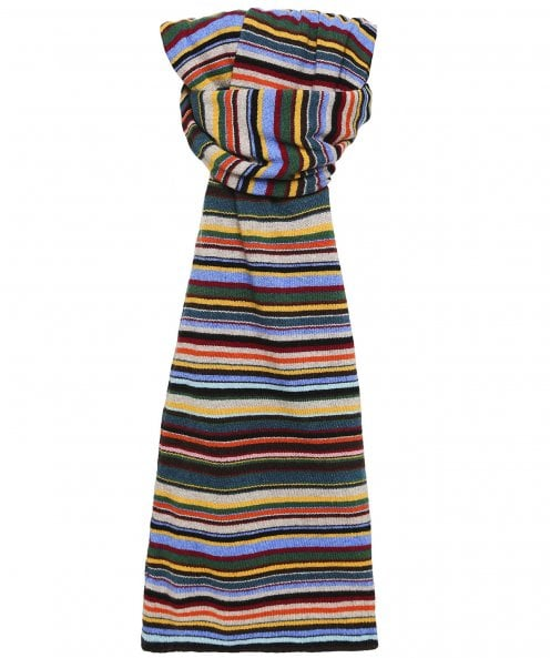 Paul Smith Cashmere Blend Striped Scarf