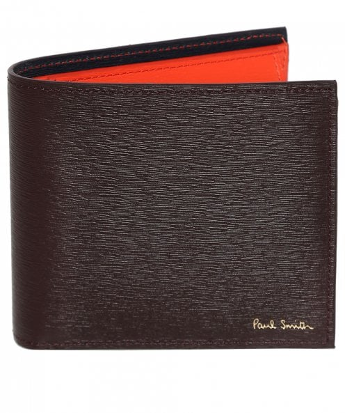 Paul Smith Grain Leather Coin Wallet