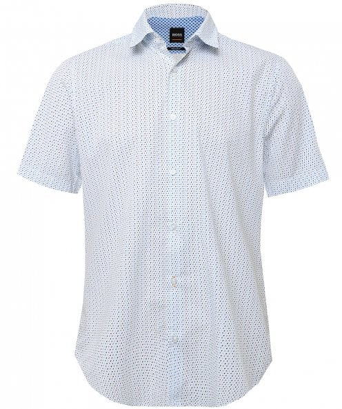 BOSS Orange Regular Fit Short Sleeve Rash Shirt