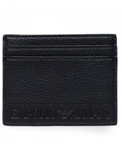 Armani Tumbled Embossed Card Holder