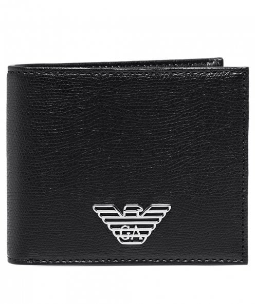 Armani Branded Tumbled Wallet
