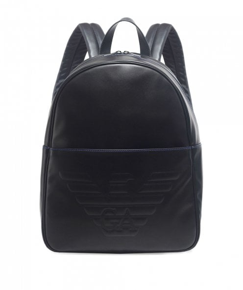 Armani Maxi Logo Backpack