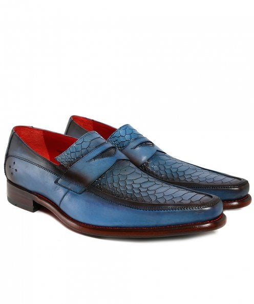 Jeffery-West Leather Melly Penny Loafers