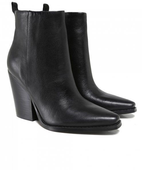 Kendall and Kylie Shoes Leather Clive Ankle Boots