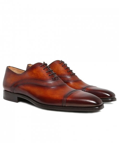 Magnanni Leather Thunder Oxford Shoes
