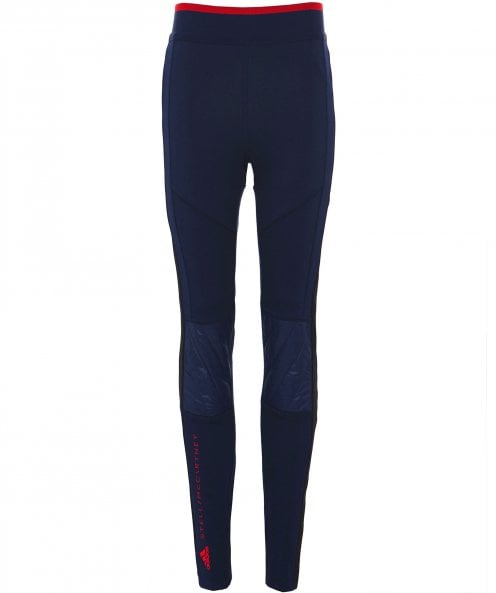 adidas by Stella McCartney Train Quilted Knee Leggings