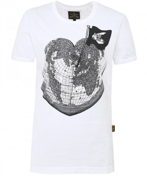 Vivienne Westwood Anglomania Classic Heart World T-Shirt