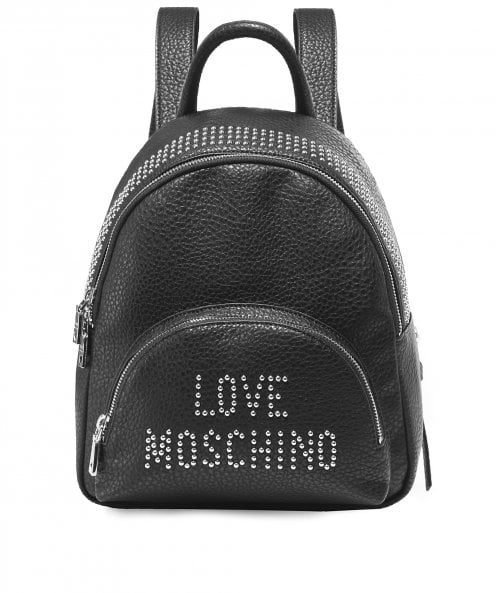Moschino Love Moschino Studded Logo Backpack