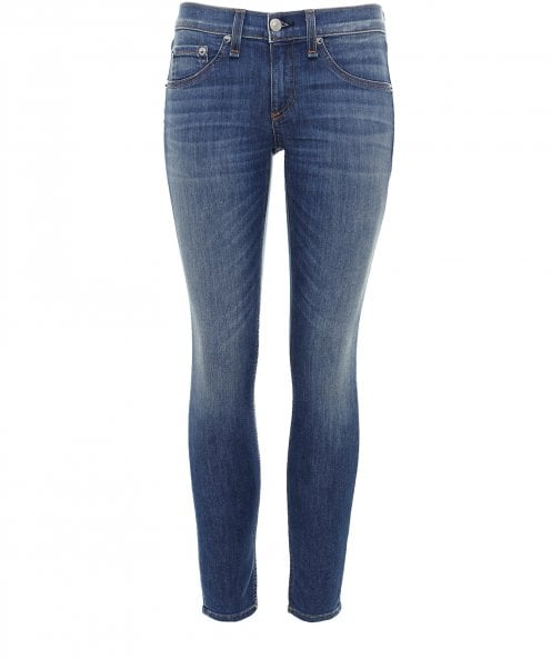 Rag and Bone Washed Capri Jeans