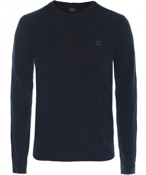 BOSS Casual Lightweight Cotton Kalassy Jumper
