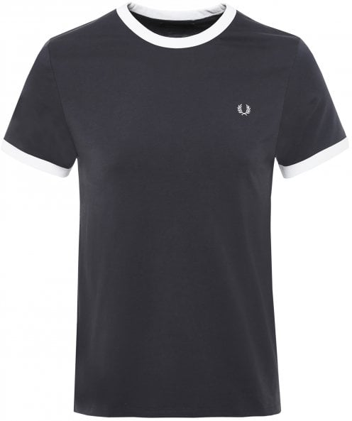 Fred Perry Crew Neck Contrast Ringer T-Shirt