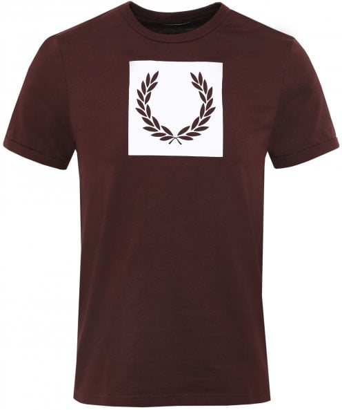 Fred Perry Crew Neck Laurel Wreath T-Shirt