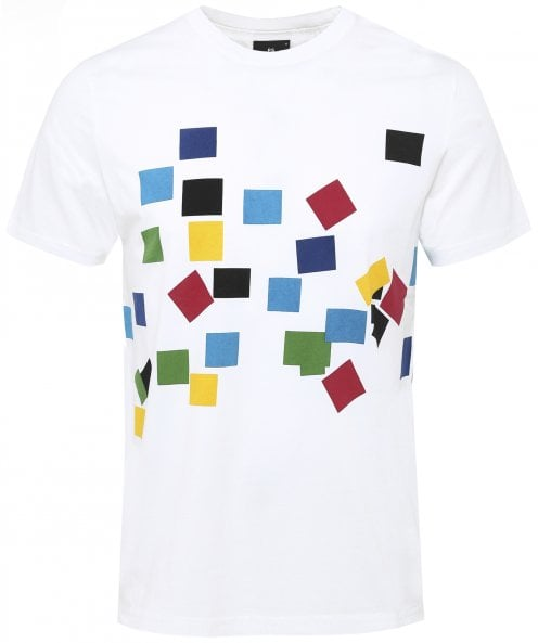 PS by Paul Smith Organic Cotton Multi Cube T-Shirt