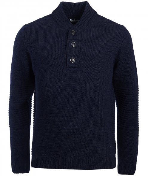 Barbour International Wool Alternator Jumper