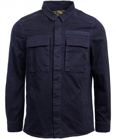 Barbour International Cotton Command Overshirt