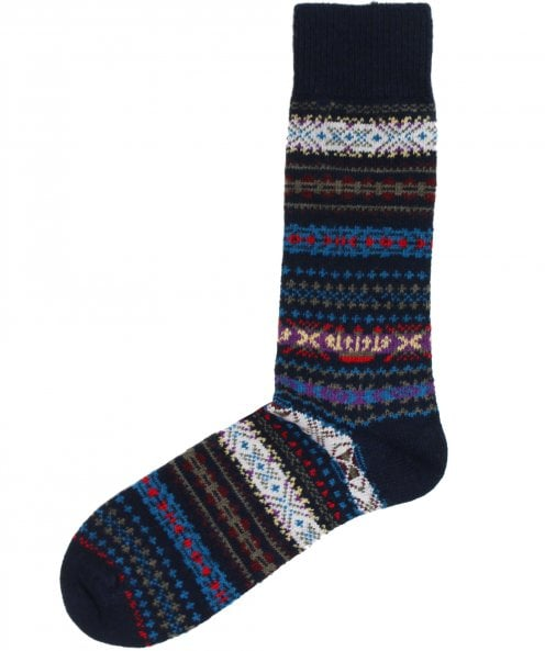 Barbour Striped Boyd Socks