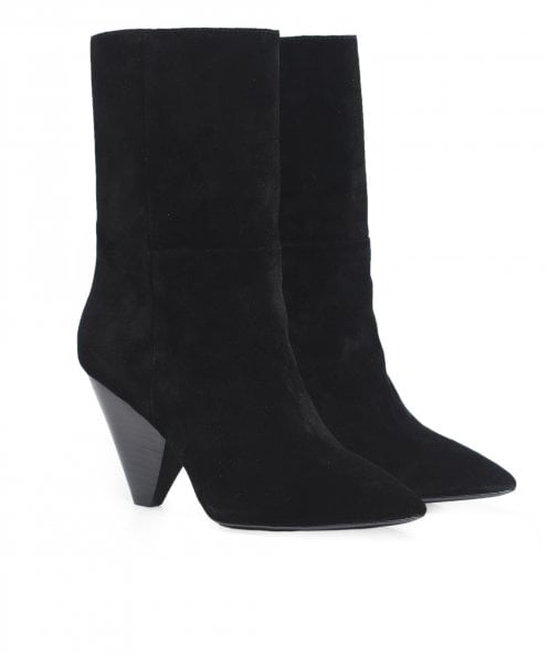 Ash Doll Suede Mid Calf Boots