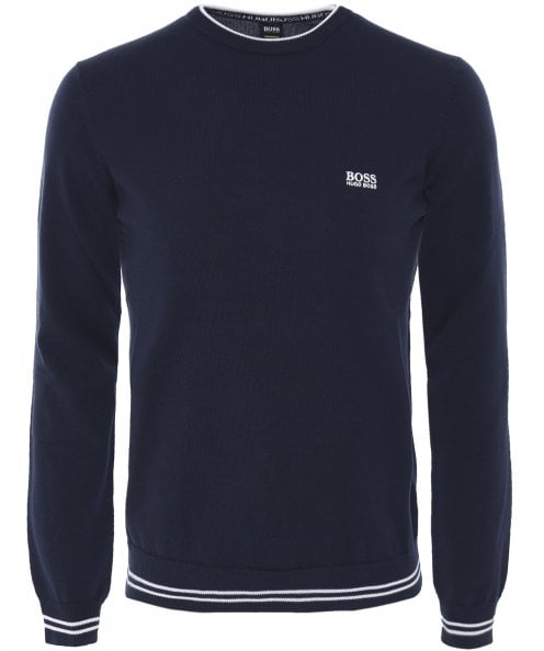 BOSS Green Crew Neck Rimex_W18 Jumper