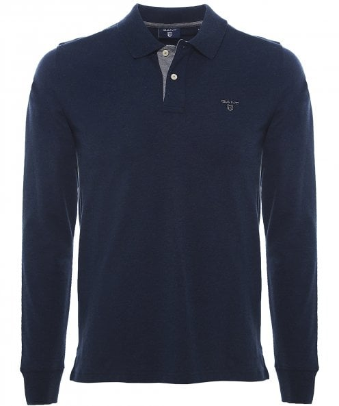 GANT Long Sleeve Rugger Polo Shirt