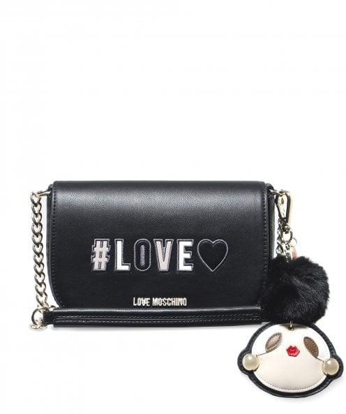 Moschino Love Moschino Love Keyring Saddle Bag
