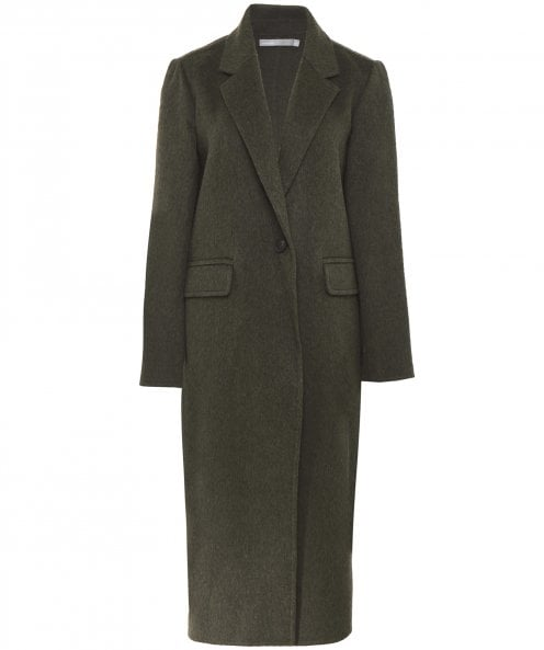 Vince Wool Long Blanket Coat