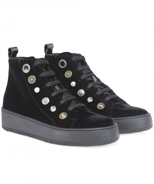 Maimai Saffie Trinket High Top Trainers