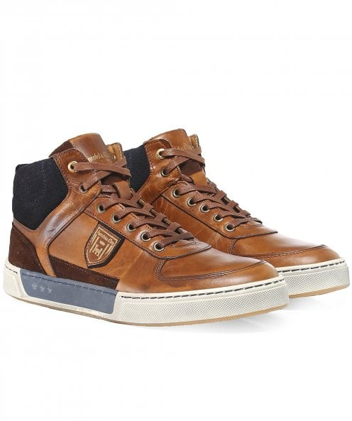 Pantofola d'Oro Leather Mid-Top Frederico Trainers